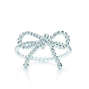 Tiffany & Co Twist Bow Ring